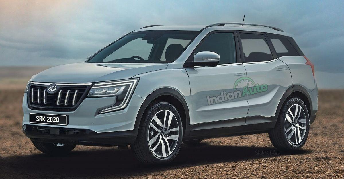 New render of next-gen 2021 Mahindra XUV500 SUV