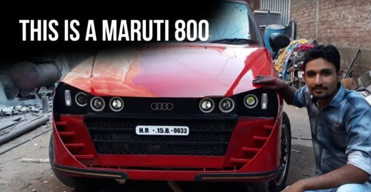Maruti 800 cars that went through a transformation!