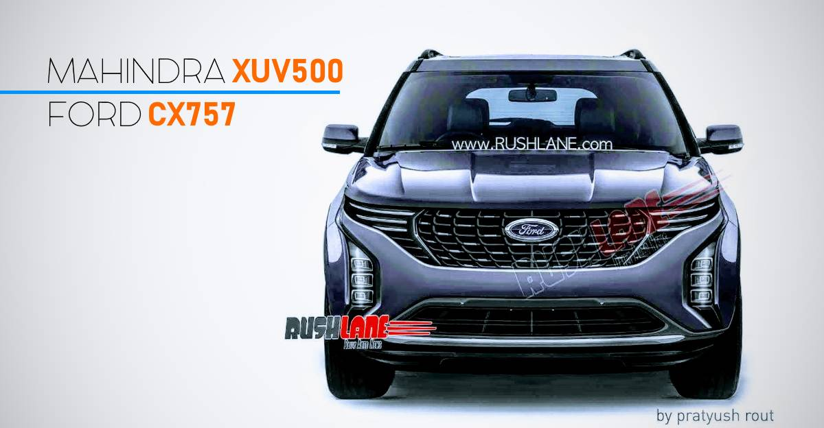 Ford's XUV500-based SUV will look like this
