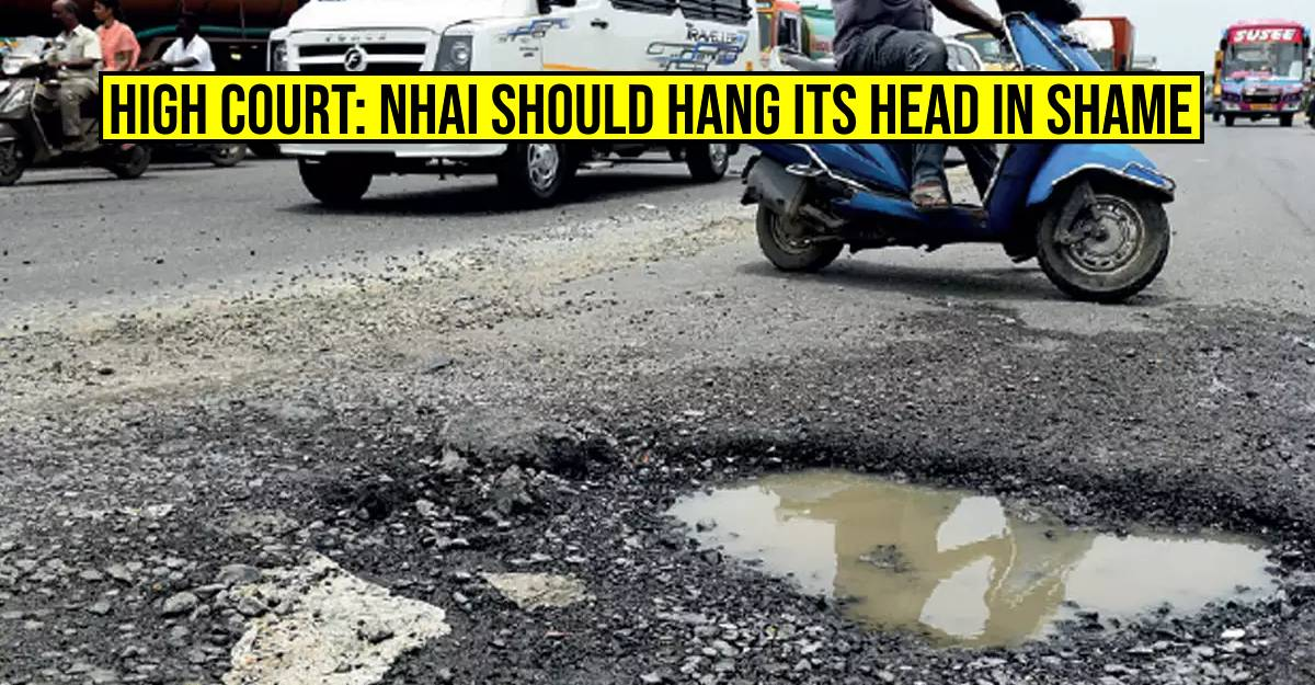 Madras High Court directs toll operator to collect only 50 % toll until potholed road is fixed
