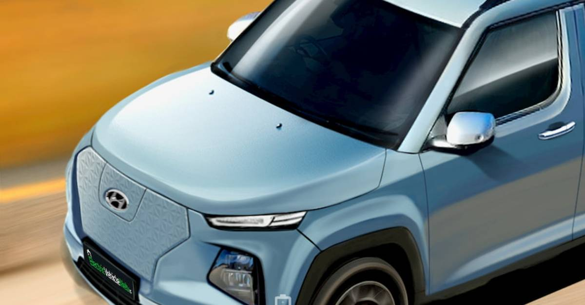 Hyundai's micro SUV AX1 to launch as an Electric Vehicle