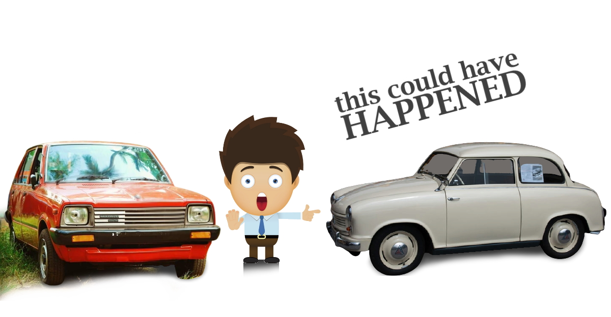Lloyd LP250 was the car that was supposed to have been built instead of Maruti 800