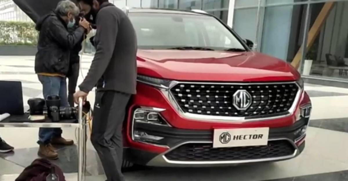 MG Motor confirms launch of 7 seat, facelifted Hector SUV in January 2021