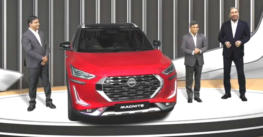 Nissan Magnite compact SUV launched in India at an introductory price of 4.99 lakh