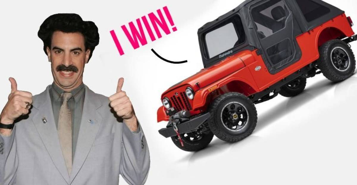 Mahindra Roxor can be sold in the US, rules regulator