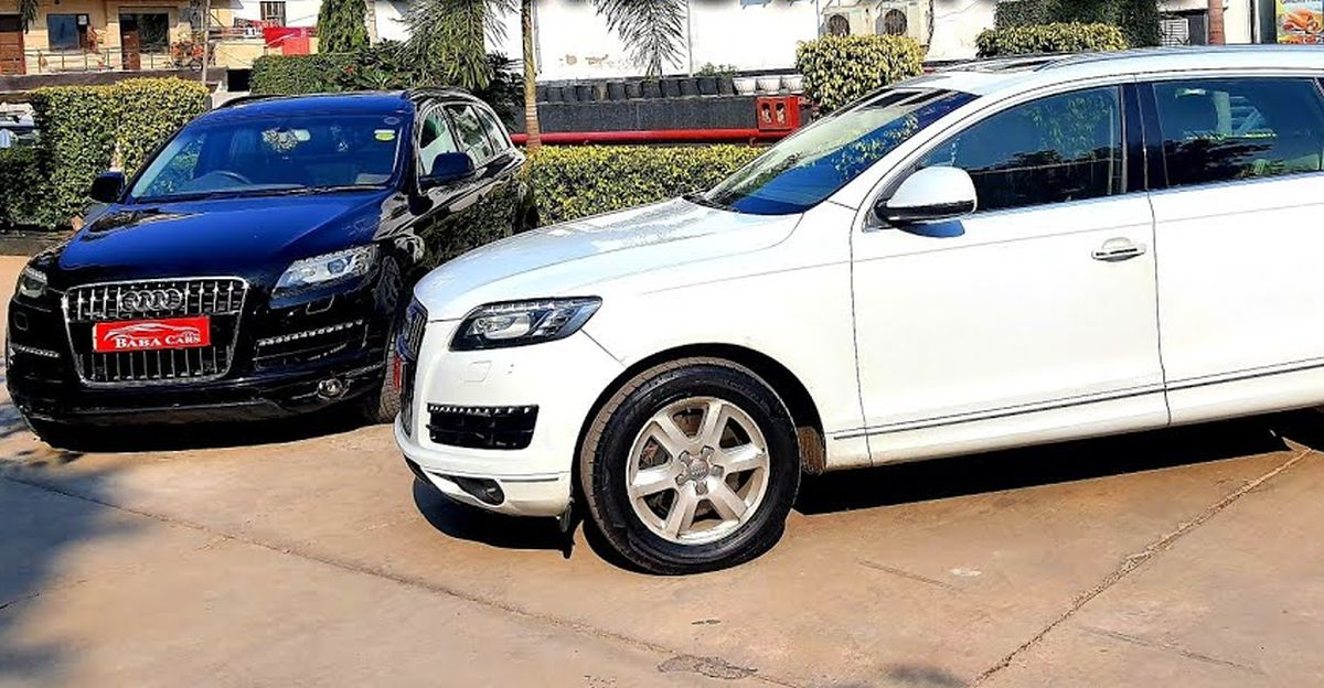 7-seat used Audi luxury SUVs for sale from 8.75 lakh