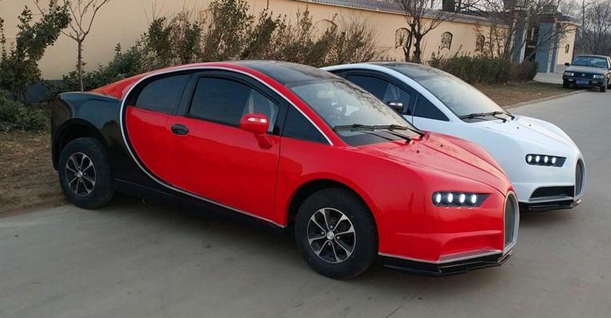 Chinese copycat version of the Bugatti Chiron is cheaper than a Maruti Alto