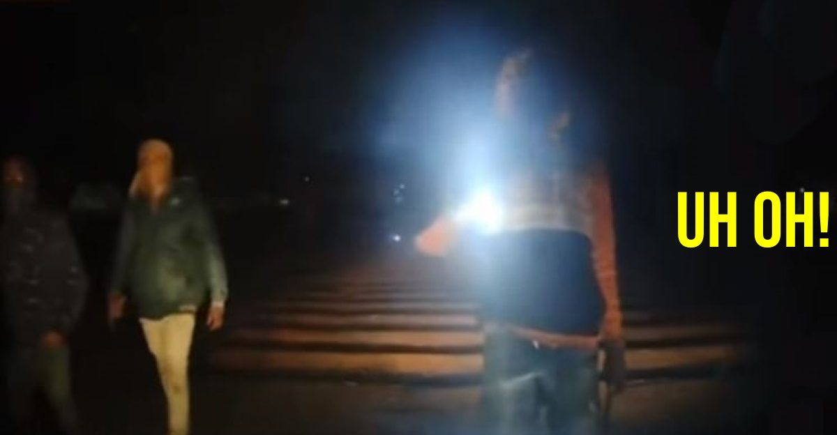 Scary video shows attempted car hijack at night, driver escapes narrowly