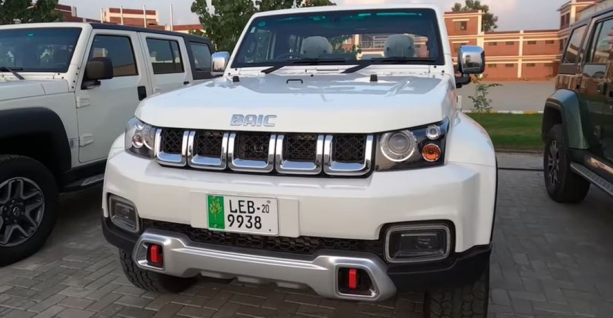 Copycat Chinese Jeep sold in Pakistan is a Bolero-Thar remix