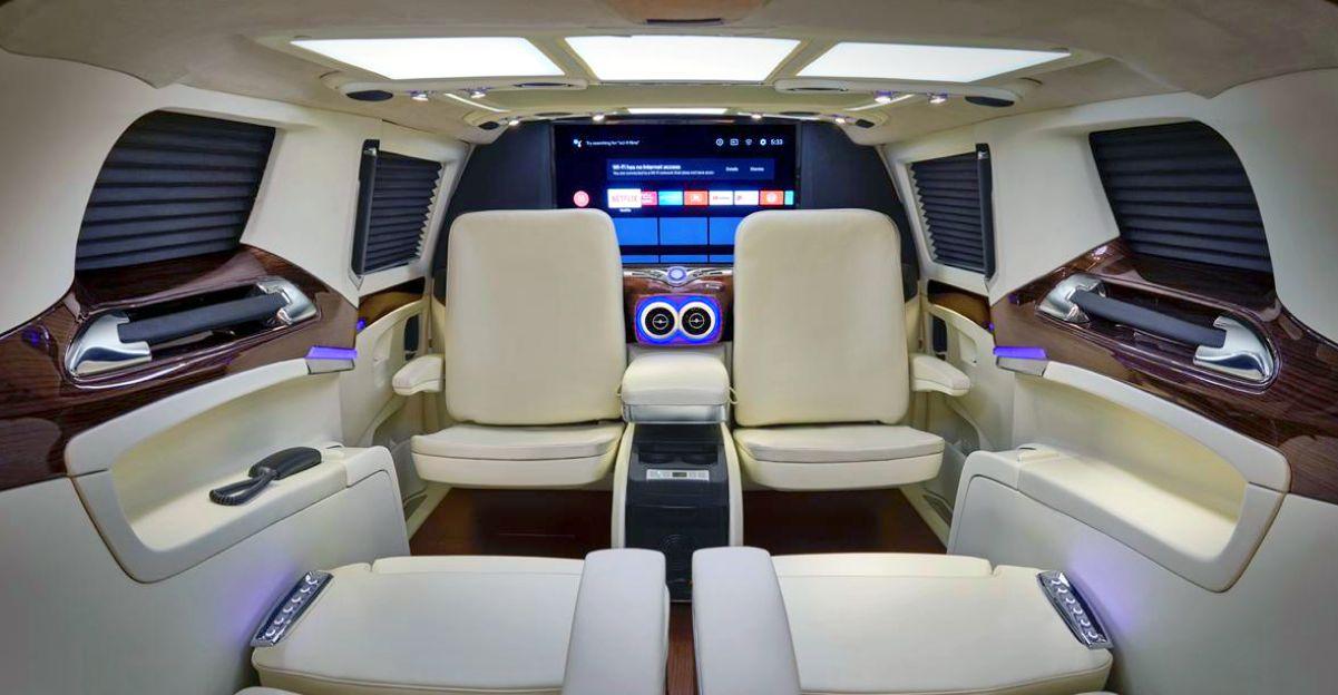 DC Design (DC2) introduces super luxury lounge for the Kia Carnival MPV