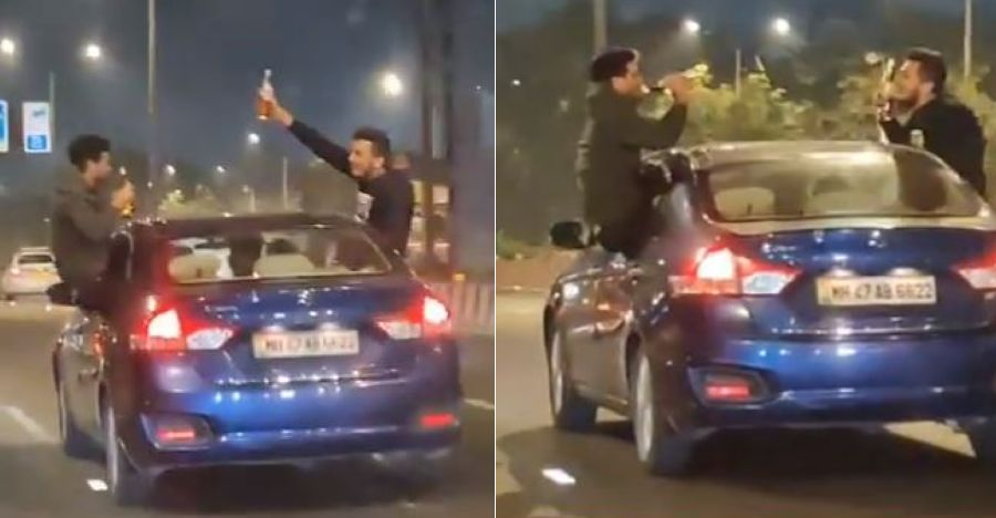 3 Mumbai youth arrested after drunken stunt driving video goes viral