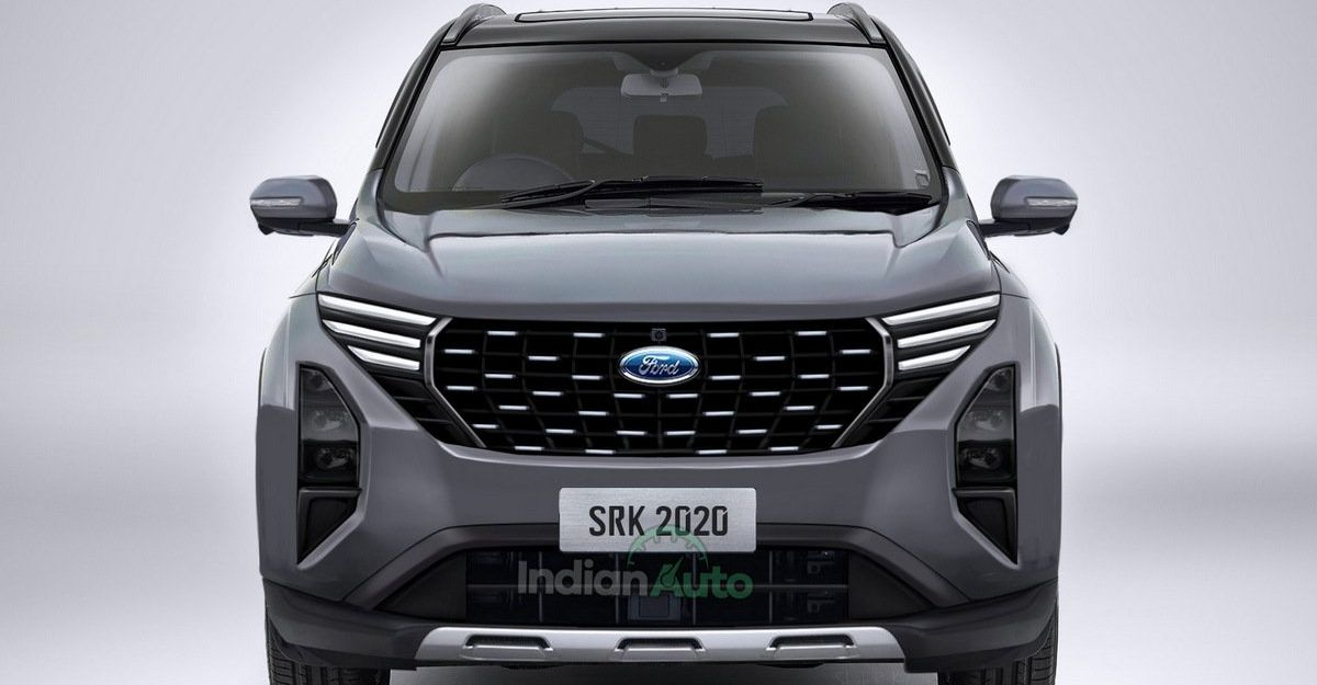 Ford C-SUV based on the all-new Mahindra XUV500 rendered