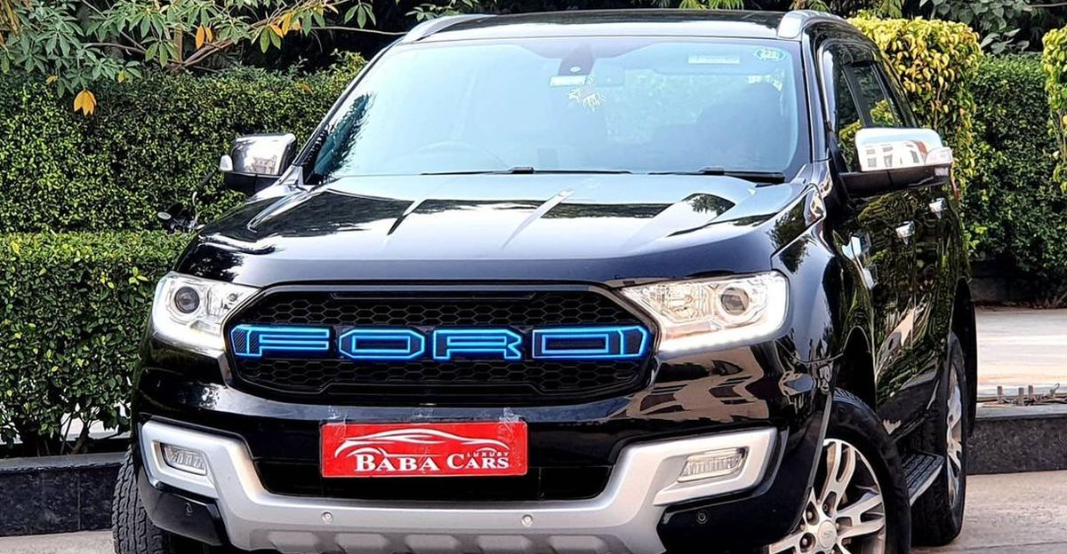 2 year-old top-end Ford Endeavour with auto parking for sale: Rs.15 lakh cheaper than new