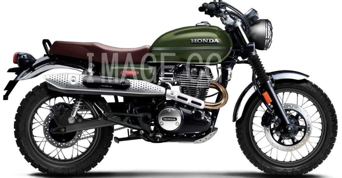 Honda CB350 H'Ness based Scrambler & Cafe Racer under development