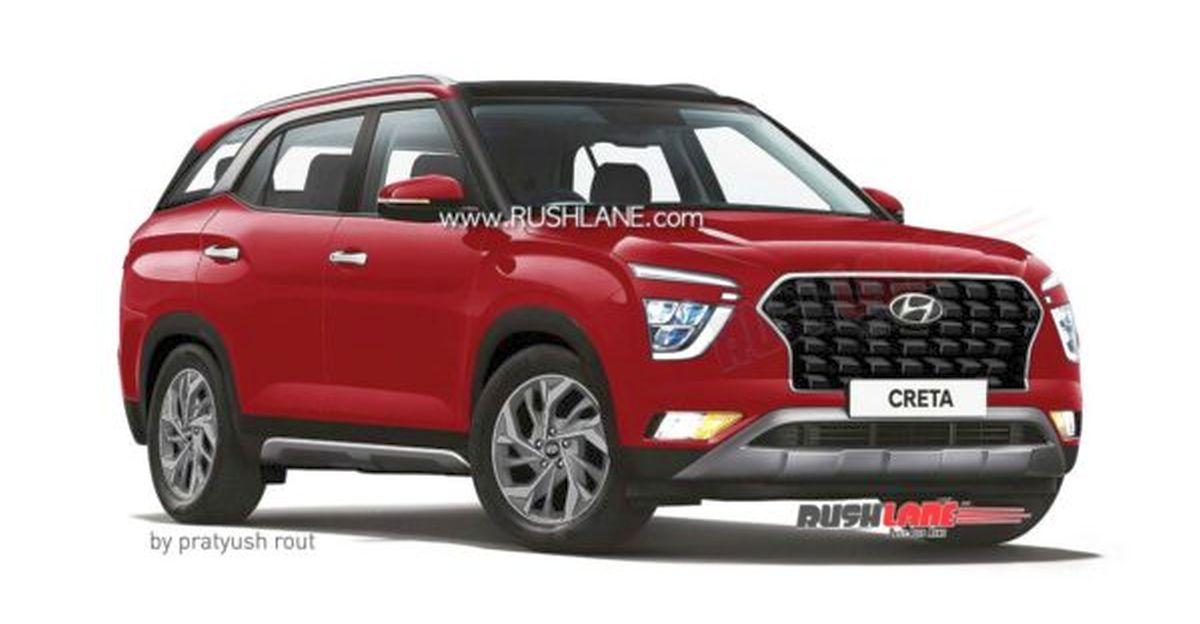 Hyundai Creta 7-seat mid-sized SUV in 4 new colours