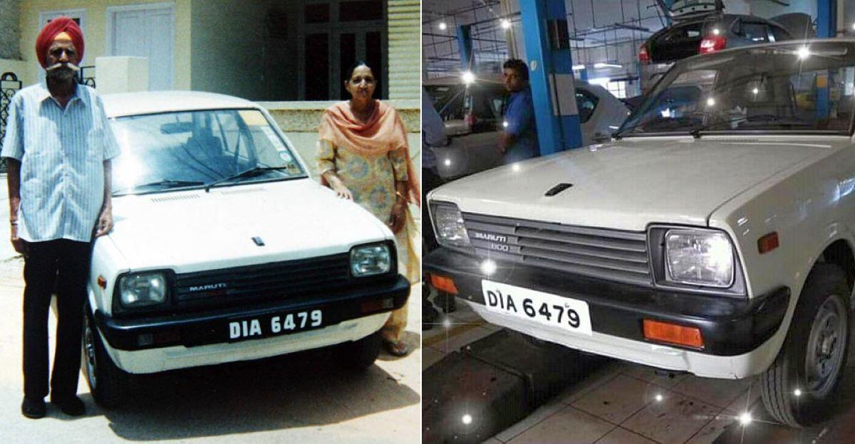 Maruti 800 turns 37: What the first Maruti 800 looks like now