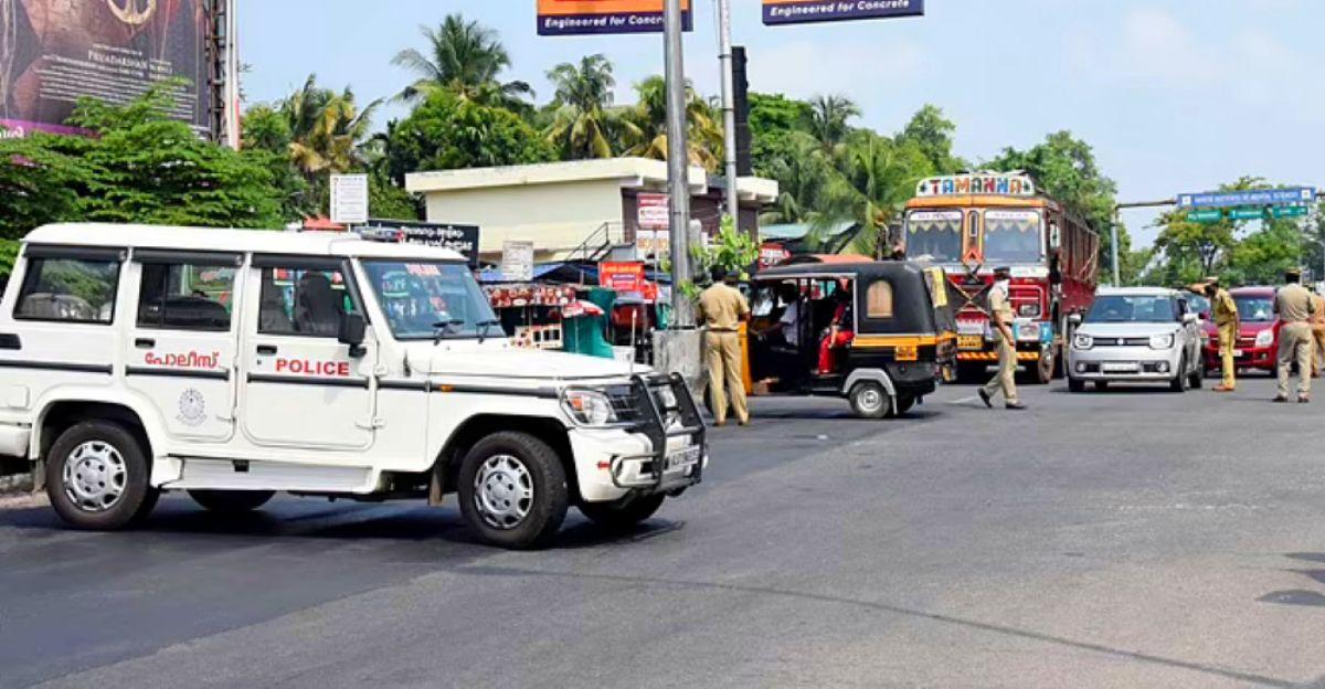 Kerala DGP says No to window curtains, sun film & bull bars on Police vehicles