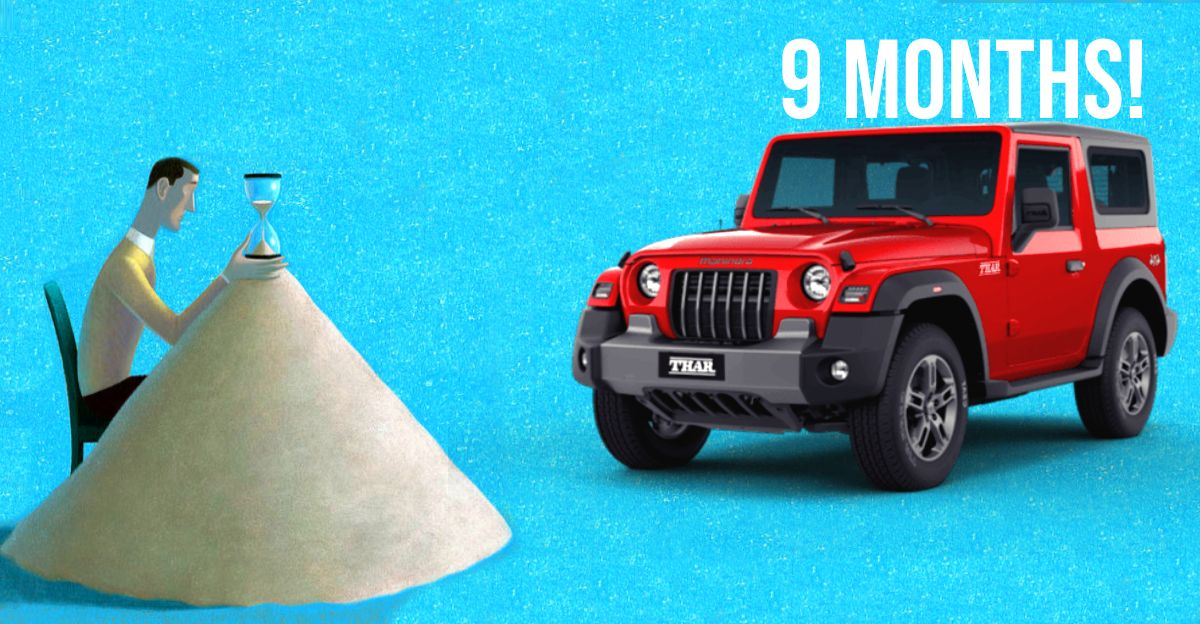 All-new Mahindra Thar's waiting period climbs to 9 months