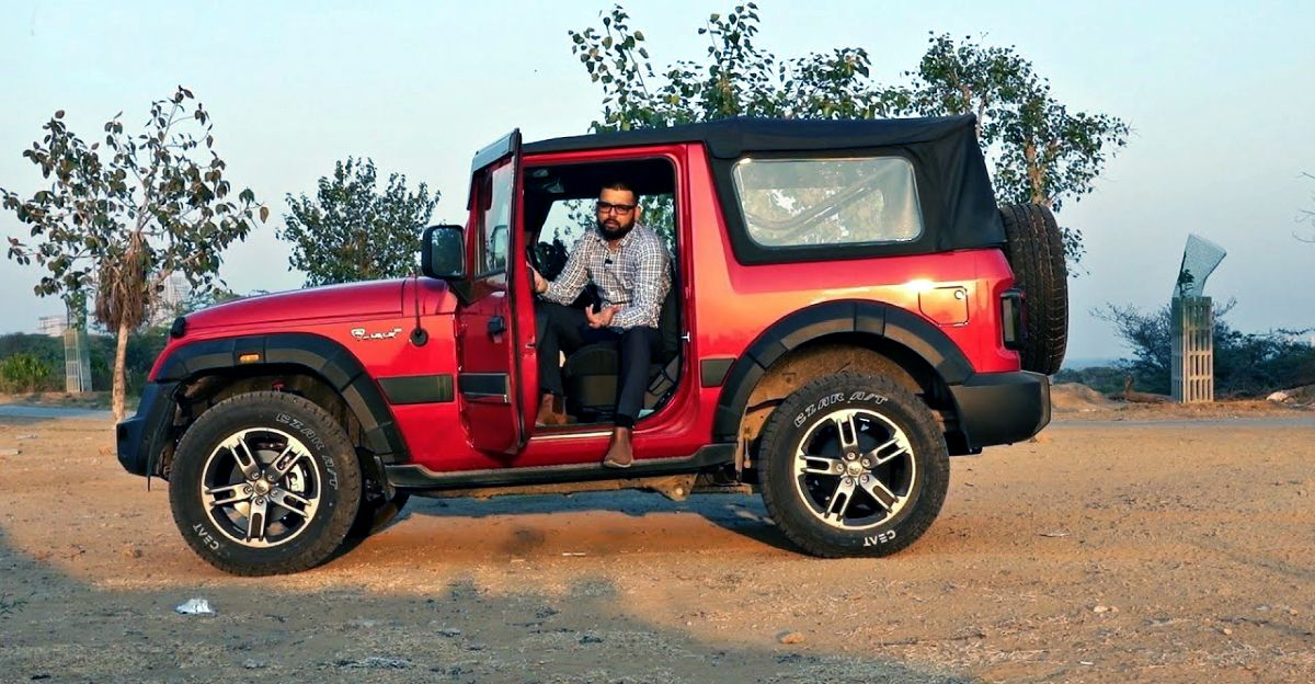 Ford EcoSport owner uses 2020 Mahindra Thar for office commute & details his experience
