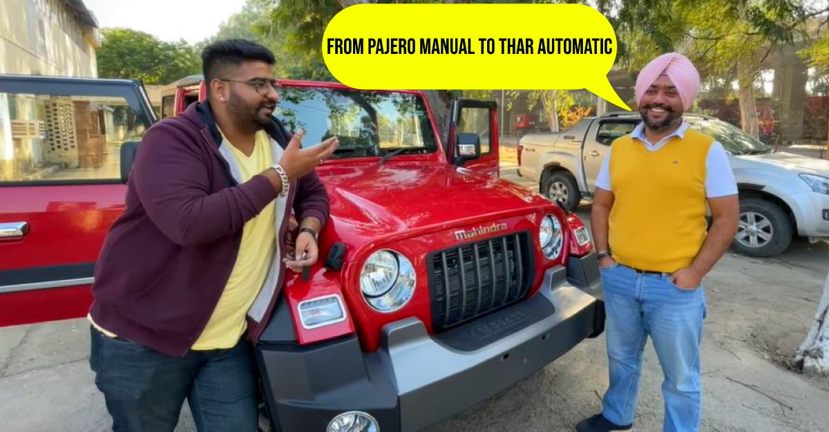 Pajero owner reviews his new Mahindra Thar after driving for 3500 Kms