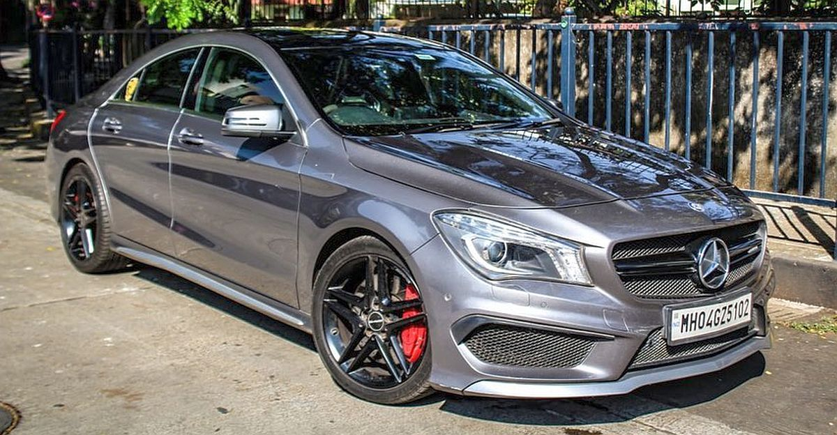450 bhp Mercedes CLA 45 AMG sportscar for sale at a price cheaper than Fortuner