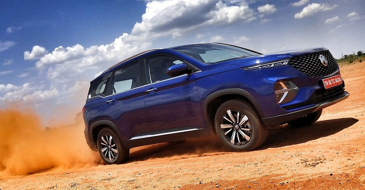 MG Hector Plus to get all wheel drive shortly