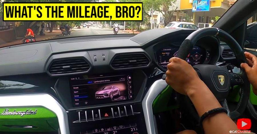 Lamborghini Urus super SUV tested for mileage on Indian roads