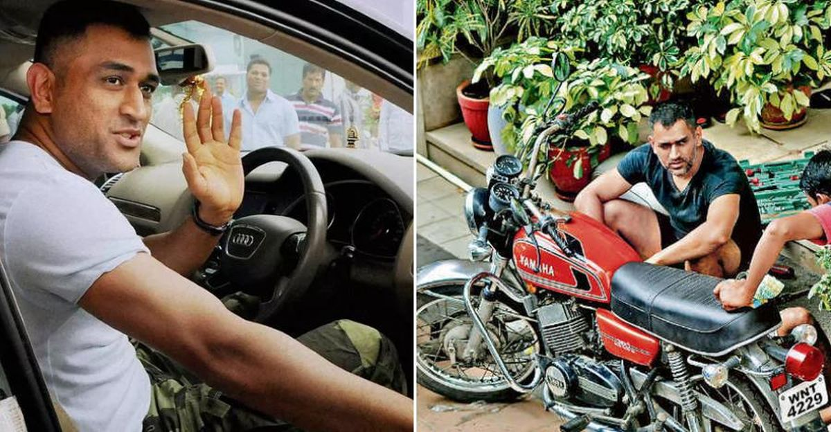Captain Cool MS Dhoni's AWESOME car & motorcycle garage