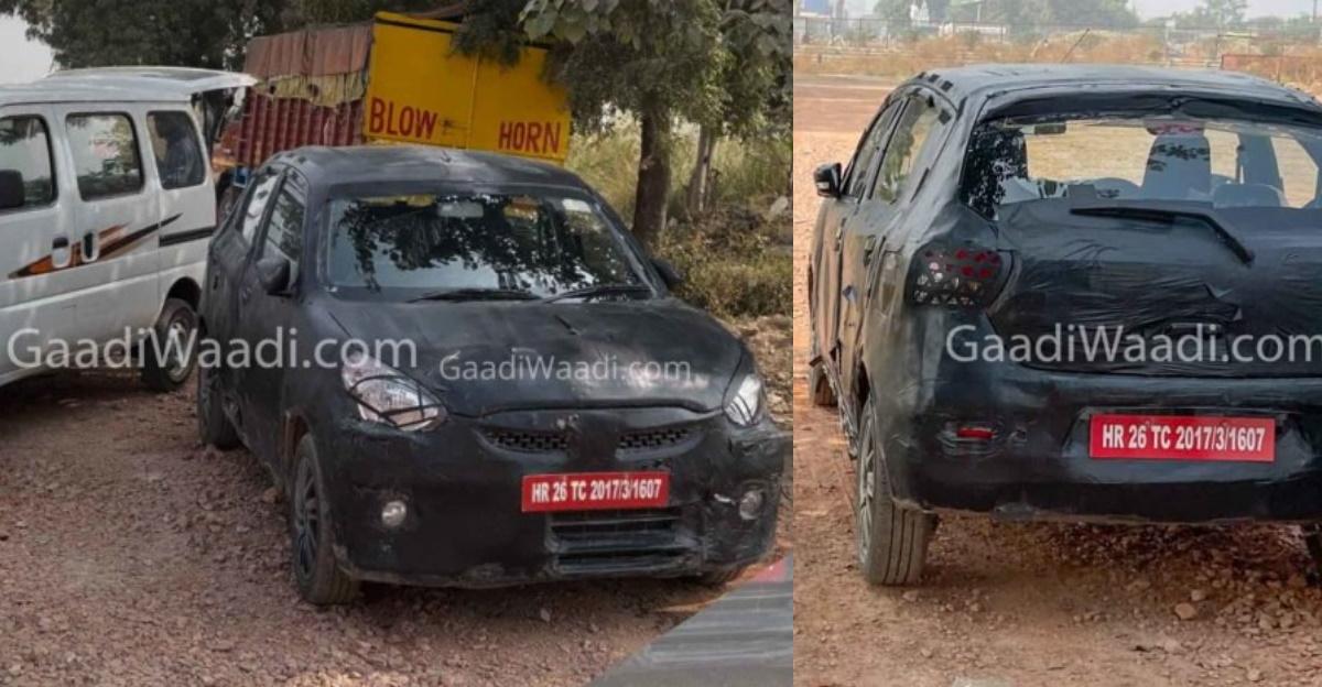 Next-gen Maruti Celerio spotted testing in India again