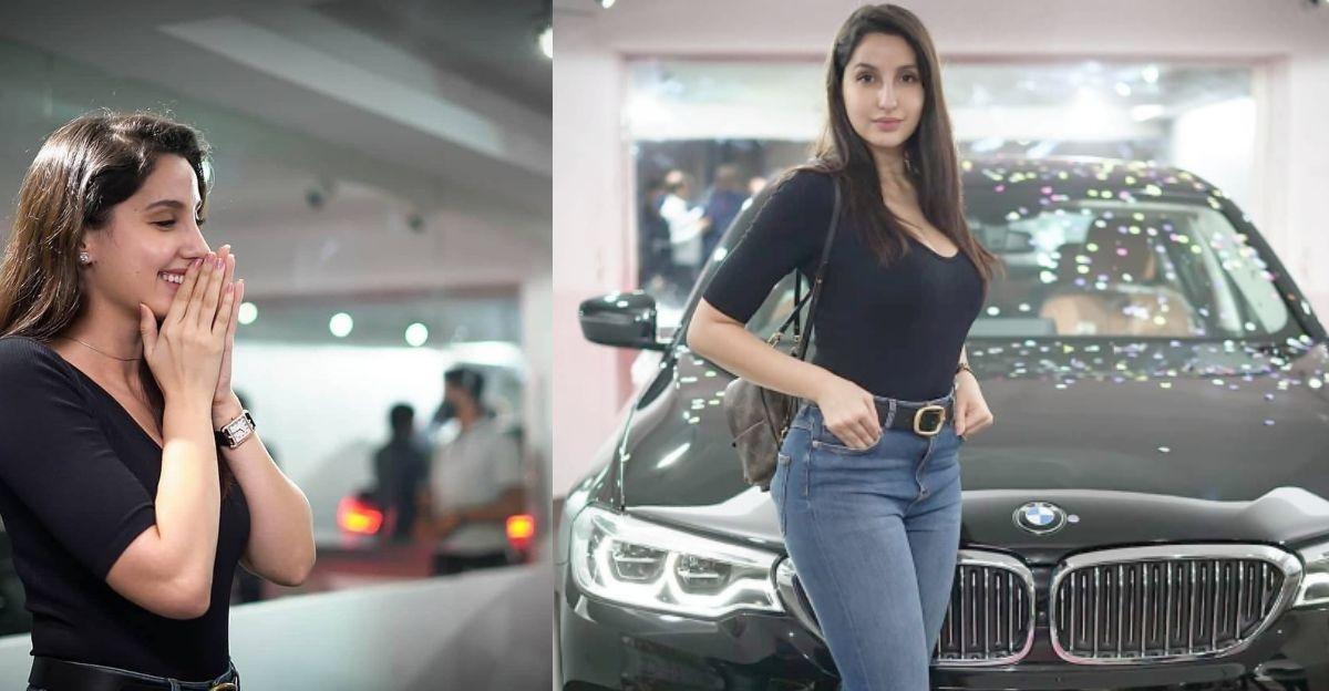 Bollywood actress Nora Fatehi buys a brand new BMW 5-series luxury sedan