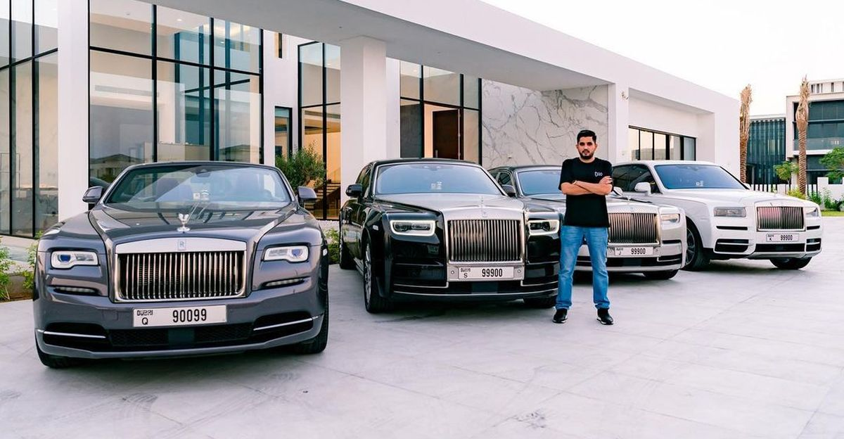 29 year-old Indian billionaire and his super luxurious fleet of Rolls Royces