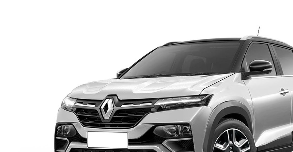Renault's next big launch for India is the Kiger compact SUV, production version rendered