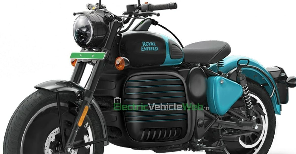 Royal Enfield Classic-based electric bike rendered