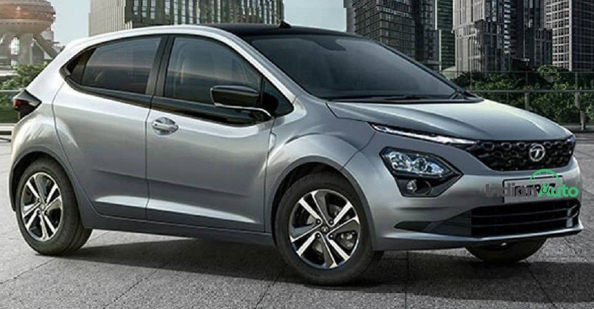 Tata Altroz with Harrier-style front end looks good