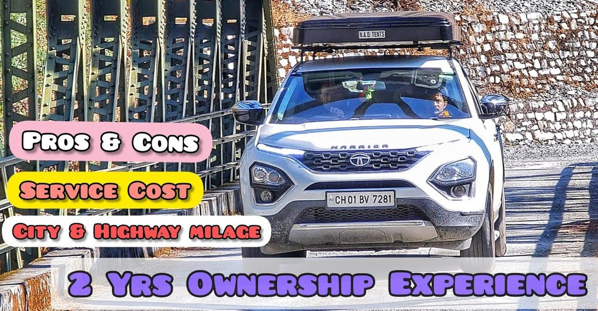 Tata Harrier ownership experience detailed after 2 years, 30,000 kilometers