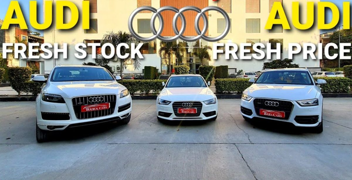 Luxurious Audi cars and SUVs starting from Rs. 10 lakh