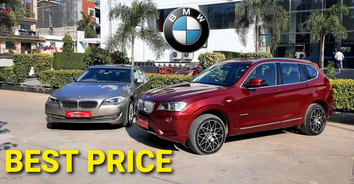 Mercedes & BMW luxury cars starting from Rs. 6.95 lakh
