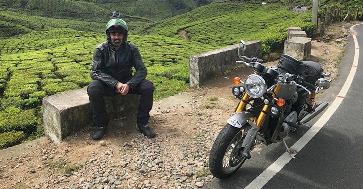 Volkswagen India MD Gurpartap Boparai clocks 50,000 Kms on his Triumph Thruxton superbike