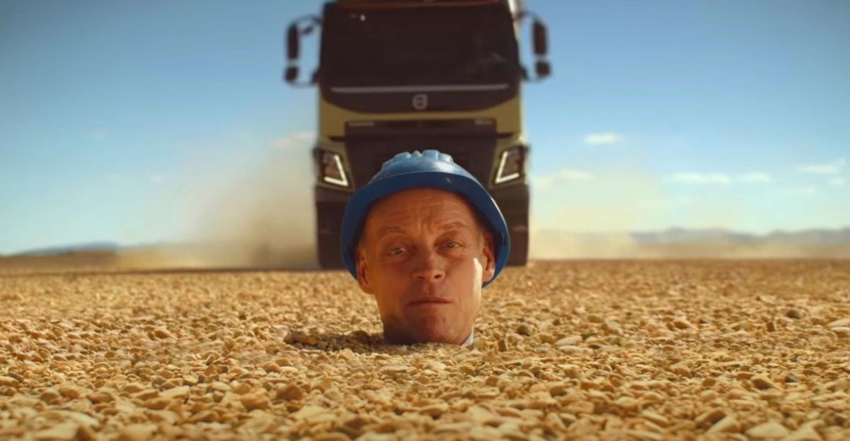 Volvo shows off 300mm ground clearance in crazy TVC