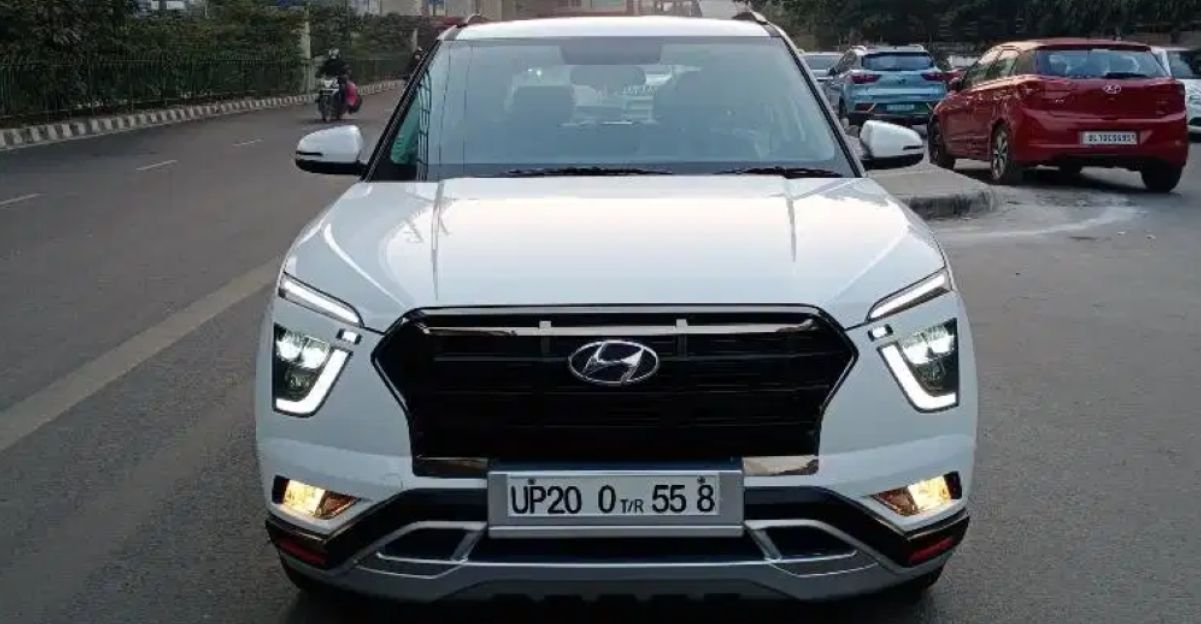 3 almost-new 2020 Hyundai Creta SUVs for sale, with less than 5,000 Km on their odometers