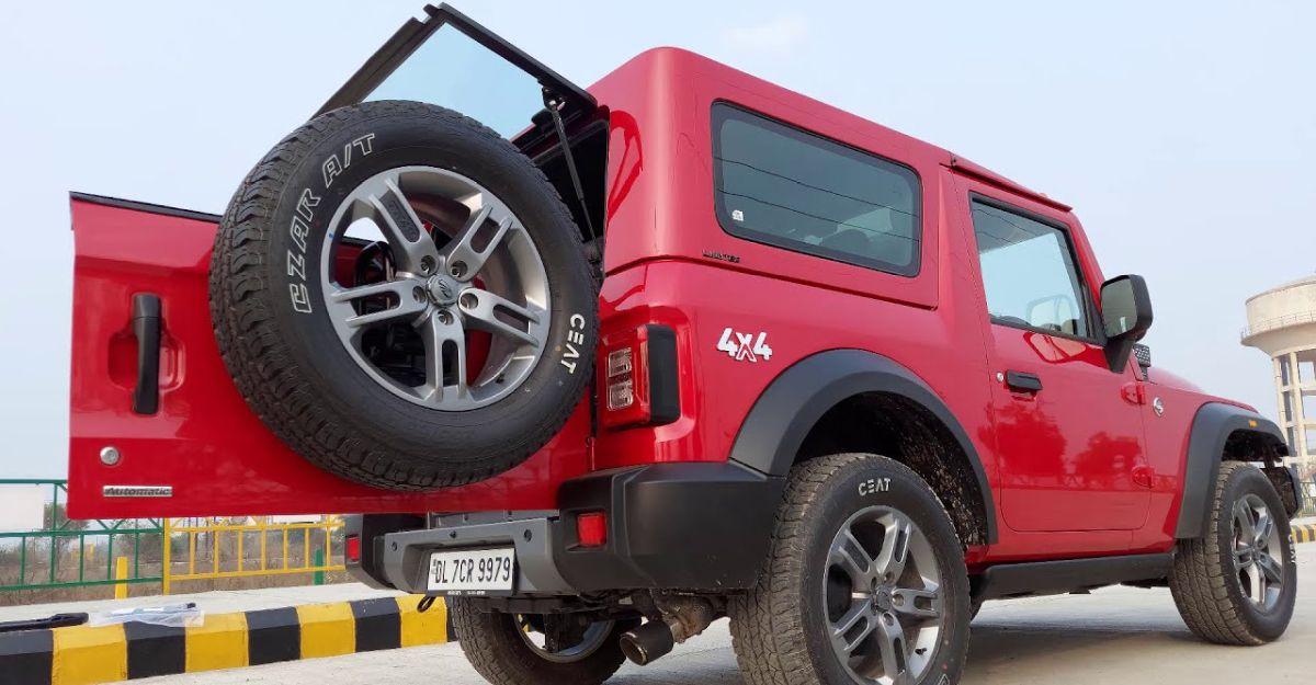 2020 Mahindra Thar modified by Azad 4×4 looks neat