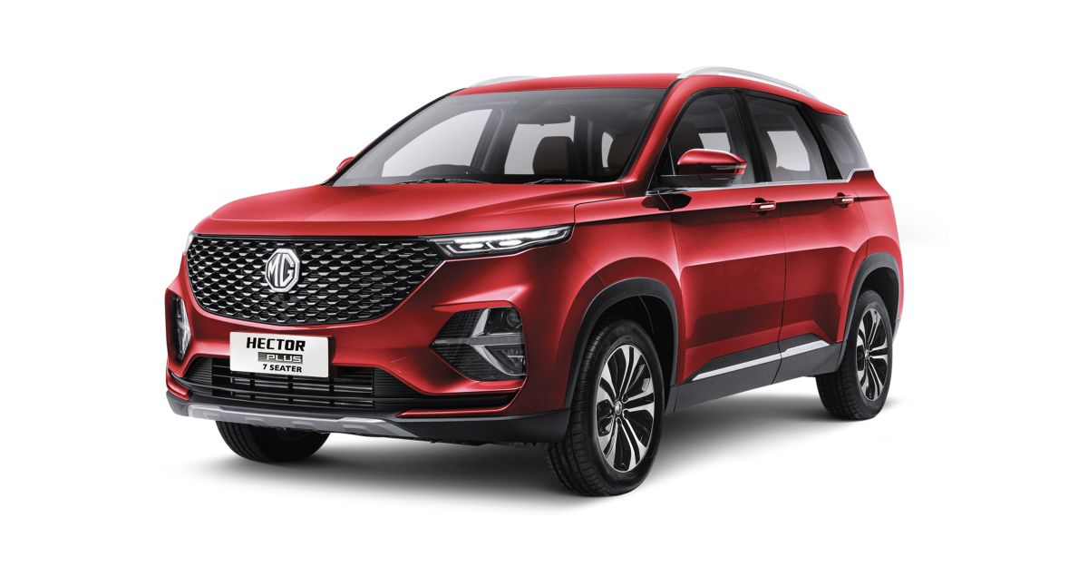 2021 MG Hector Facelift 7 seater gets a new 'Select' trim