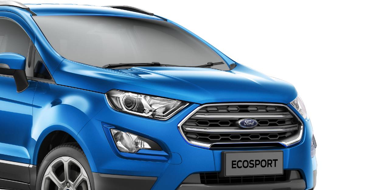 2021 Ford EcoSport launched with sunroof, prices lower by upto Rs. 35,000