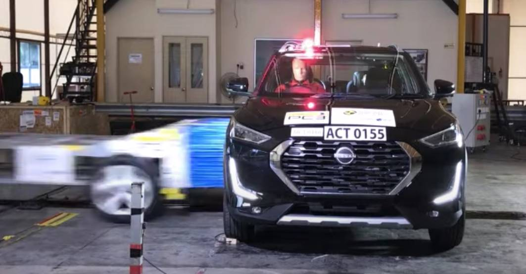 Made-in-India Nissan Magnite scores 4 stars in A-NCAP test [Video]