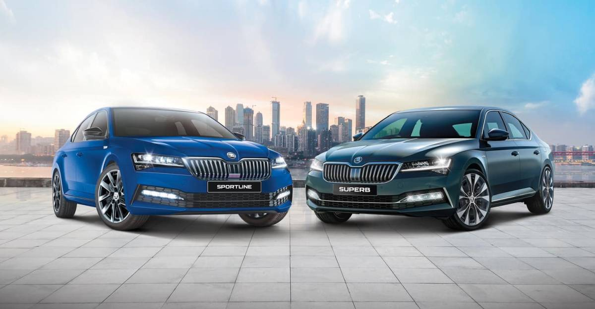 Facelifted Skoda Superb luxury sedan launched in India