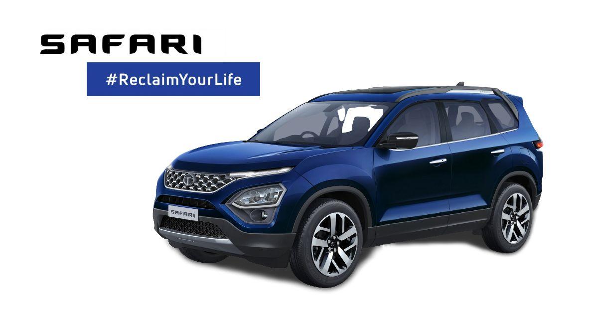 All new Tata Safari base trim's interiors revealed