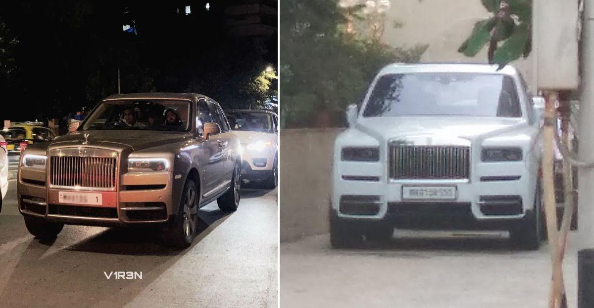 Mukesh Ambani buys second Cullinan, Fourth new Rolls Royce in garage