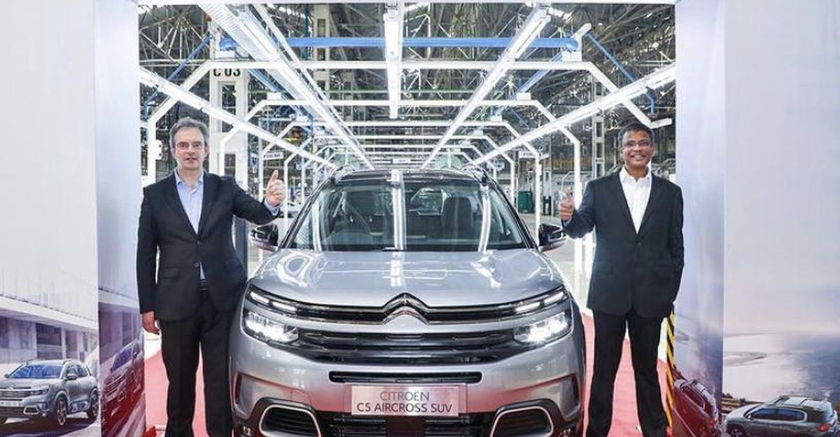 Citroen C5 Aircross bookings open in India, official price announcement next month