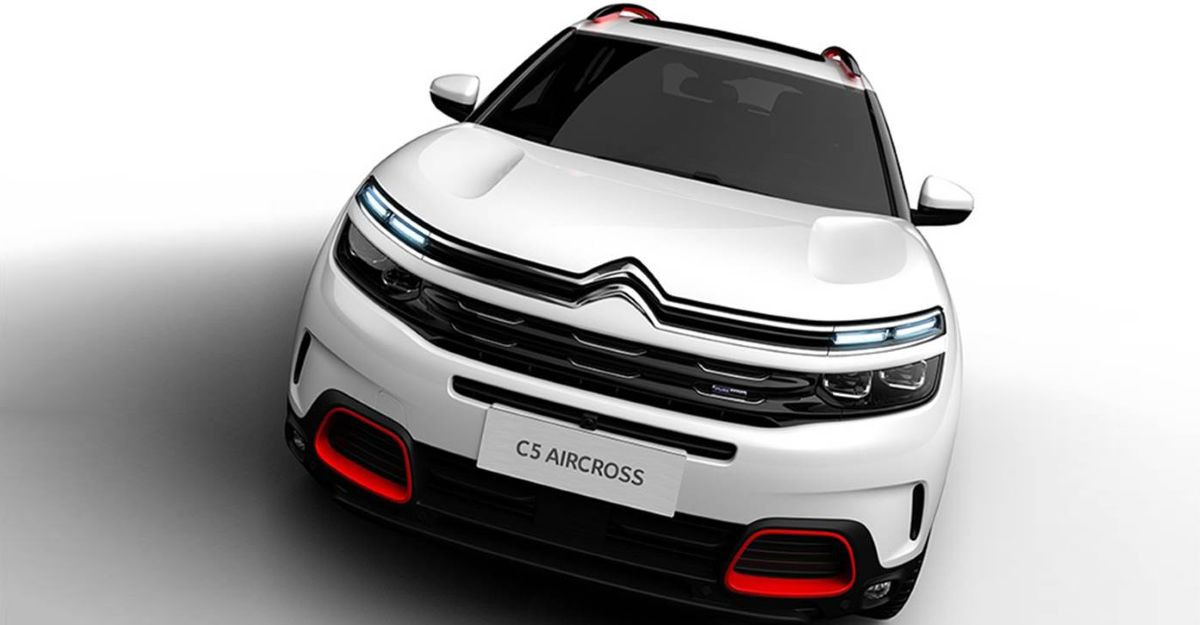India-spec Citroen C5 Aircross SUV to be officially revealed on 1 February 2021