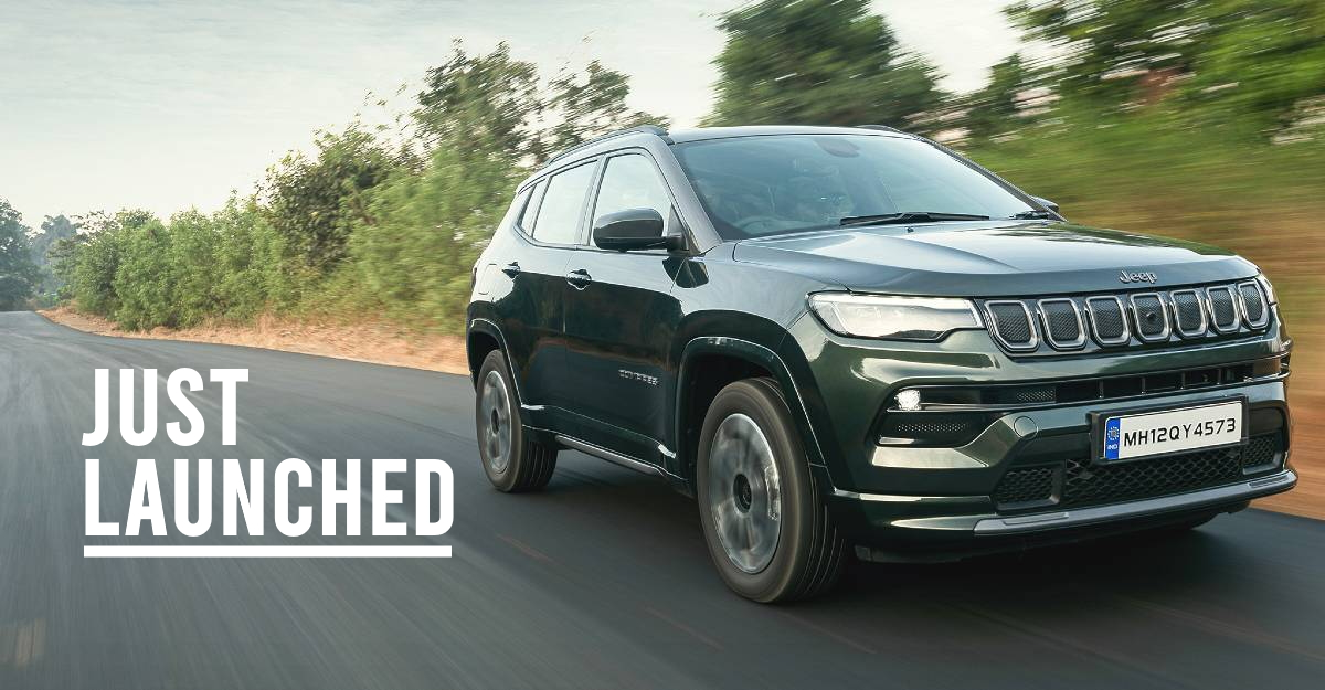 2021 Jeep Compass launched in India
